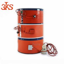 Shenzhen 3KS Factory Hot Sale Oil Drum Silicone Rubber Heater