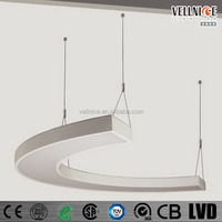 Aluminum LED 50W office pendant light,hanging lamp