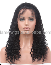 SL0011 NEWLOOK Popular Hot sale Wholesale 100% Remy Hair for Women water wave full lace wigs Sexy Light brown wigs