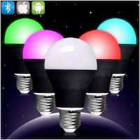 2015 New Best E27 Wireless Led Light Bluetooth Bulb Speaker with Mobile Phone App remote Control