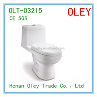 Exported Iran Siphonic Bathroom One Piece Toilet WC Sanitary Toilet