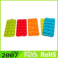 Fast Production Simple Design Environmental Protection Non-Toxic Candy Molds Silicone Ice Cube Tray