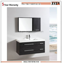 Plywood modern bathroom furniture poland