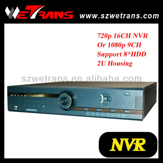 WETRANS Linux 16 channel 1080P ONVIF 16CH Full HD Network Recorder