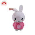 Vinyl pink bunny soft toy rabbit