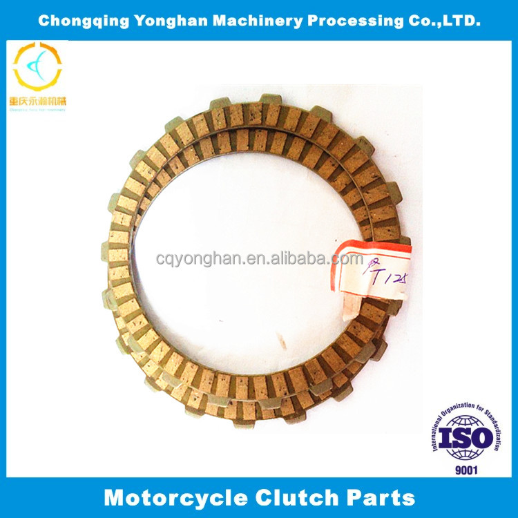 T125 Customized Paper Friction Disc Clutch Plate For Motorcycle Engine Parts