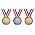 Custom Sports Medals and Trophy with Custom Logo