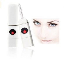 Cosmetic Make up Tool Rechargeable Electric Eyelash Curler With USB Disk
