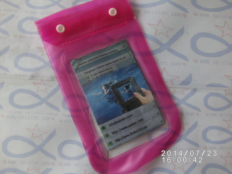Popular hot sell pvc digital camera waterproof case/bag