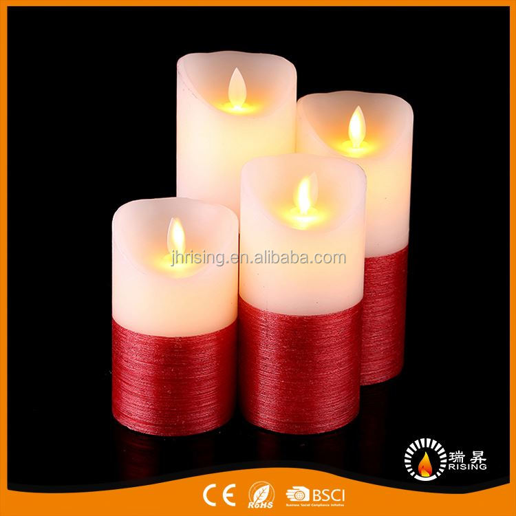 Factory direct sale super quality cheap color candles dancing led flameless candle