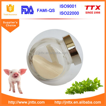 TTX 10% powder Oregano oil premix for pig feed as a natural and remarkable antimicrobial