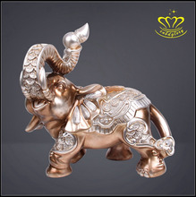 Latest home decorate new model durable resin elephant sculpture