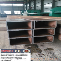 Building/Structure tube Application, Cold Roll Rectangular Carbon Steel Pipe