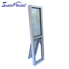 AS2047 Superhouse commercial line aluminum chain winder awning window with fixed window design in hot sale