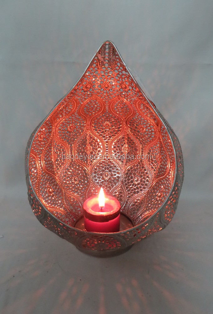 home decoration DIA18CM tealight candle stick holder for Christmas