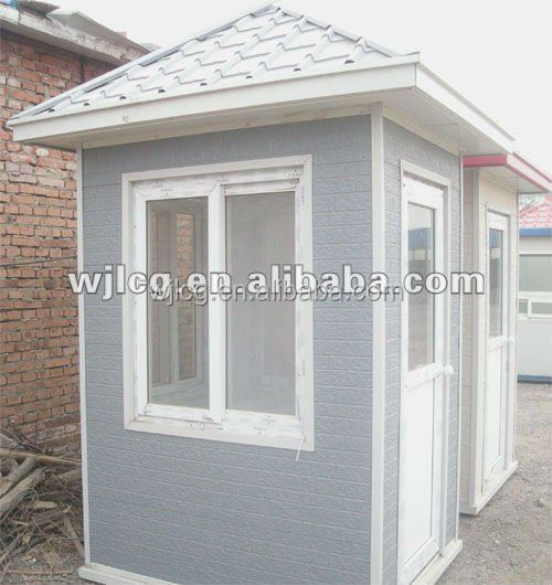 China supplier mobile portable prefabricated guard house