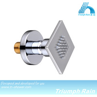 stainless steel rain shower massage jets