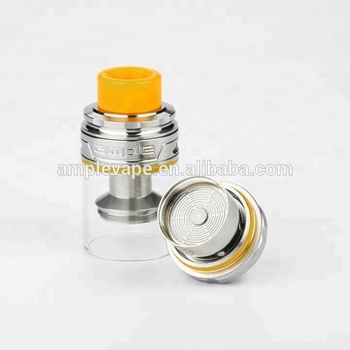 Amplevape Atomizer Mace-X Tank 2ml/3.7ml/5.7ml with ADC Disc Shaped Coil