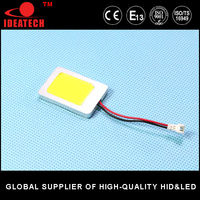 guangzhou led car accessory 12v led dome light reading light COB smd led panel light