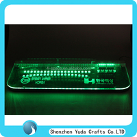 Acrylic Cigarette Display Rack, Acrylic Keyboard Shape LED E-cigarette Display Stand,