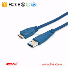Hard Disk Drive Micro USB 3.0 Double Data Transfer Cable mini usb cable
