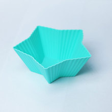 Online Wholesale Thick Square Shaped Silicone Mini Cake Cups