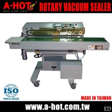 High Efficient Horizontal Nozzle Vacuum Band Rotary Sealer