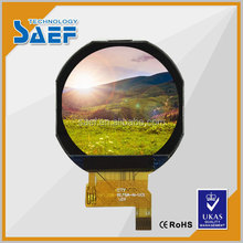 1.22 inch ips lcd display 240* (RGB )*204 circle lcd screen with SPI interface