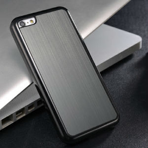 High Quality Back cover For iPhone 5c aluminum back case for iPhone 5c brushed metal hard back cover for iPhone 5c with gift