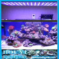 "ebay 48"" hot sale 120w led coral reef aquarium lights without noise can simulate sunset sunrise and lunar cycle automatically"