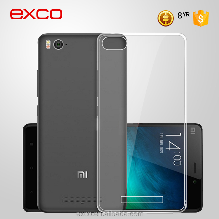 EXCO soft TPU water proof packaging custom liquid phone case for Xiaomi 4C