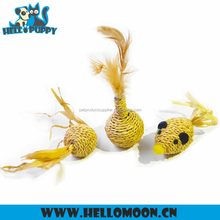 HELLOPUPPY Customize Natural Material Eco-friendly Cute Home Made Cat Toy