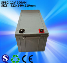 VRLA solar gel battery 12v 200ah for solar power station