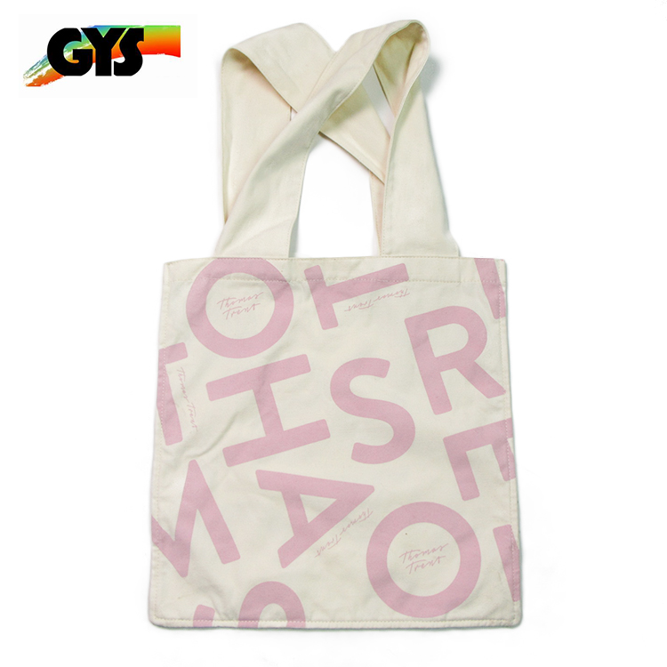 Reusable Cotton Shopper Folding Tote Shopper Bags