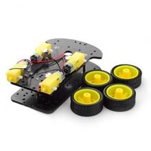 4wd Chassis Kit DIY Motor Smart Robot Car Chassis Kit fit for Arduno