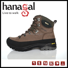 Top Quality Nubuck Leather Outdoor Boot Waterproof Hiking Shoe