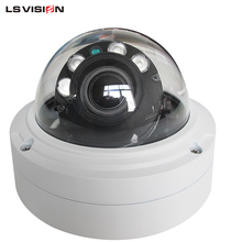 LS VISION 3MP gkb ip camera security Outdoor vandal-proof IR Dome Camera