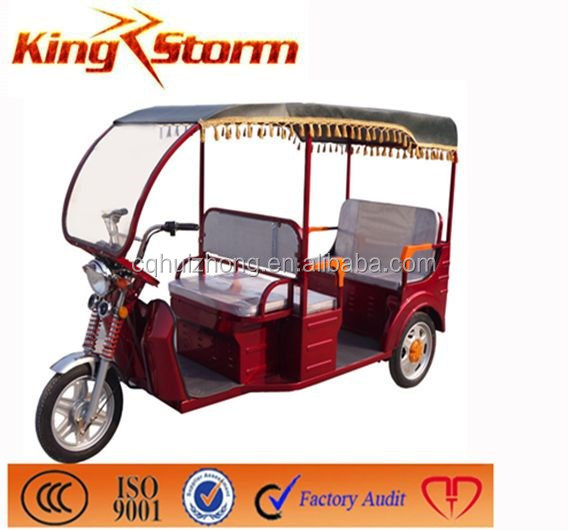 2014 new arrival electric passenger tricycle for Bangladesh