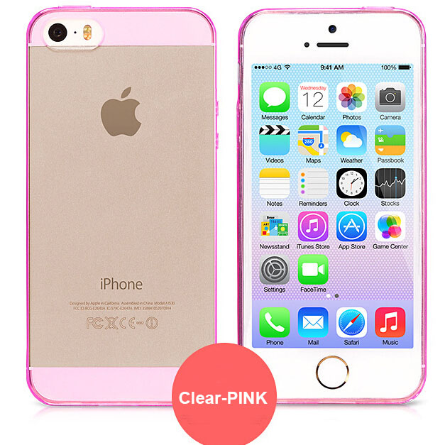 for iphone 6 Ultra Thin Light Crystal Clear Soft Silicone Transparent TPU Case cover for iPhone 5 5S 6 plus