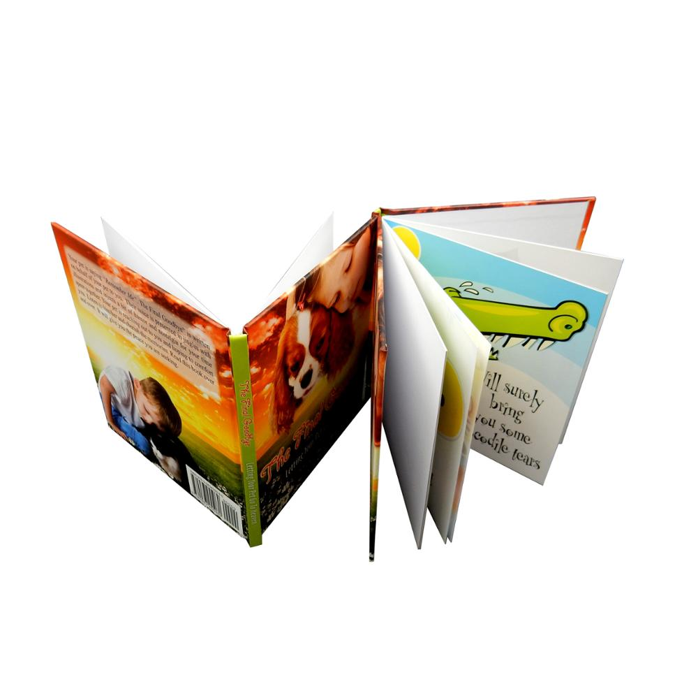 Well designed drawing book printing with lamination for children