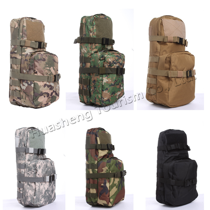 Factory price trade assurance outdoor hunting hydration bladder molle water bag