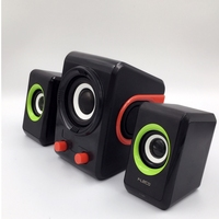 Wooden Multimedia Speaker 2.1sound box bluetooth speakers