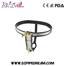 Stainless Steel Female Underwear Chastity Belt,T-type Chastity lock,Virginity pants