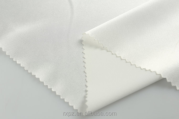 China Manufacturer Best selling spandex Cheap polyester satin fabric