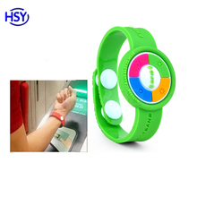 OEM/ODM from module to Production Waterproof pvc rfid wristband