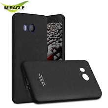 Imak Silicon Shockproof Series Soft Back Cover Case For HTC U11 Cover 5.5 inch Mobile Phone