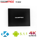 Good performance Tocomfree TV box with Android 5.1.1 suppport Kodi H.265 Youtube