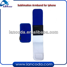 sublimation armband cover for iphone4/4s,iphone5/5s