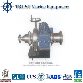 Marine Super Light Style Stainless Steel Vertical Boat Capstan Winch