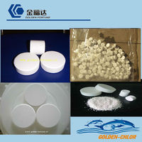 China Super-chlor hypochlorite de calcium 70% for pool chemicals and water treatment